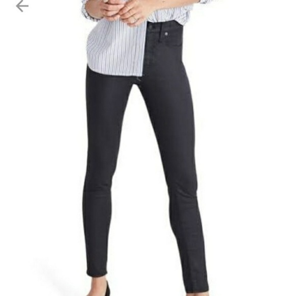 3146893e3d6b8d Madewell Pants | Skinny Faux Leather Jeans | Poshmark